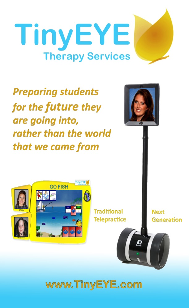When Worlds Collide: TinyEYE Therapy Services Brings Robots into the Classroom